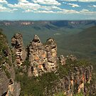 The 3 Sisters - Katoomba by Chris Cohen
