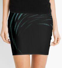 Night Wave Mini Skirt