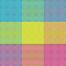 Cyan Magenta Yellow Weave by CreativeEfforts