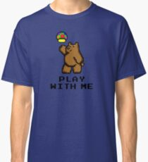 8-Bit Bear - Play with Me Classic T-Shirt