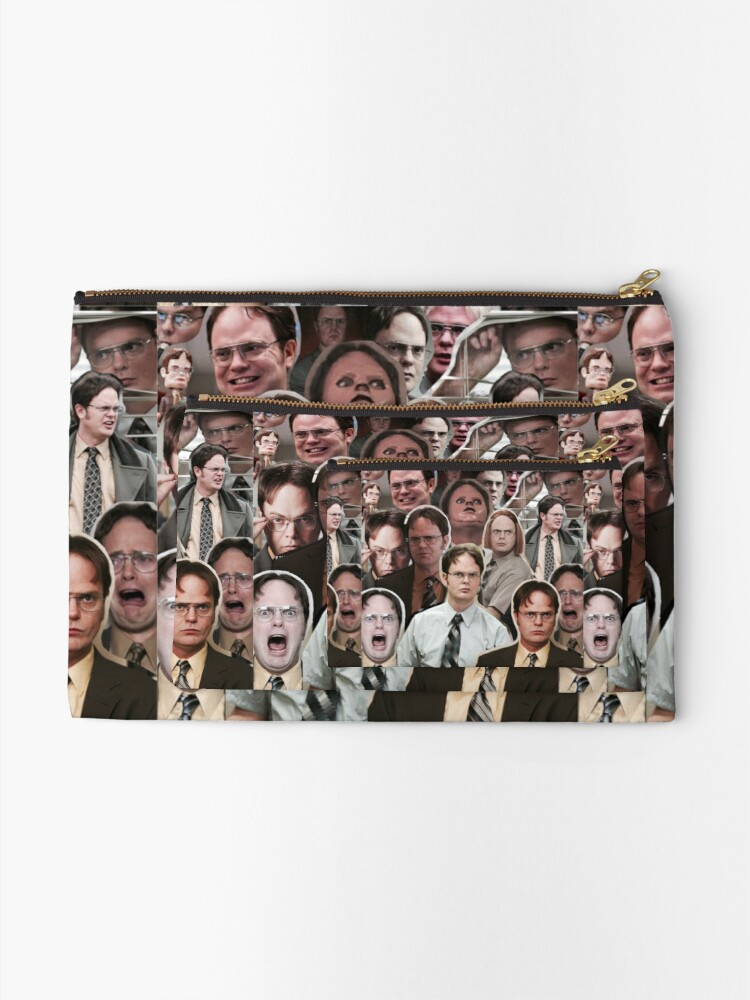 Alternate view of Dwight Schrute - The Office Zipper Pouch