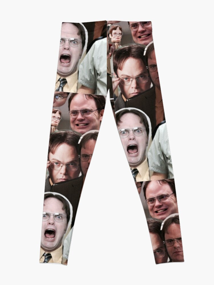 Alternate view of Dwight Schrute - The Office Leggings