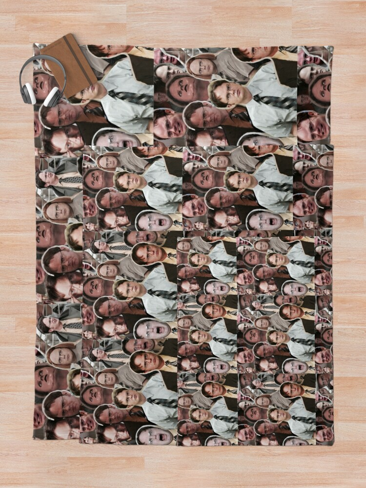 Alternate view of Dwight Schrute - The Office Throw Blanket