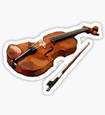 Violin Music player Sticker
