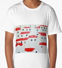 RED ROOF Long T-Shirt
