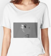 DRAWING A BLANK. Women's Relaxed Fit T-Shirt
