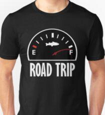 Road Trip Fisherman Gauge Graphic T Shirt T-Shirt