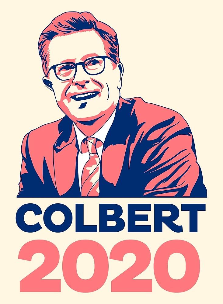 Steven Colbert für den Präsidenten von simonZan