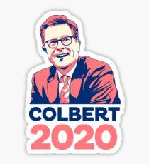 Steven Colbert for president Sticker