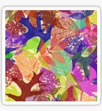 Deciduous Delight Number One Sticker
