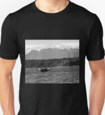 A Humpback Whale Dives Off the Shores of British Columbia T-Shirt