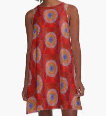 Aboriginal Inspirations # 7 A-Line Dress