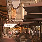 Eating out in Degraves Street, Melbourne by Elana Bailey