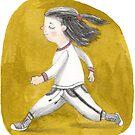 Jogging von Claudia Burmeister