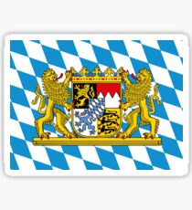 Bavarian Flag  Sticker