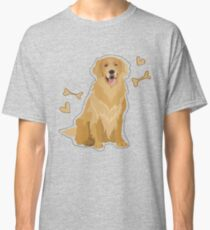 GOLDEN RETRIEVER DOG  Classic T-Shirt