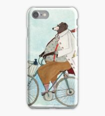 Bikerbaer iPhone Case/Skin
