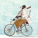 Bikerbaer von Claudia Burmeister