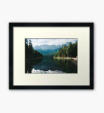 Looks like Canada II - Landscape Photography Framed Print