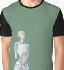 lonely Bot Graphic T-Shirt