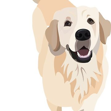 Golden Retriever Doggo by gumidomino