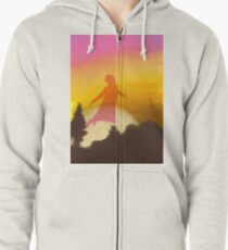 sign of the times Zipped Hoodie