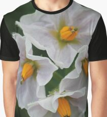 The unexpected beauty of the potato flower Graphic T-Shirt
