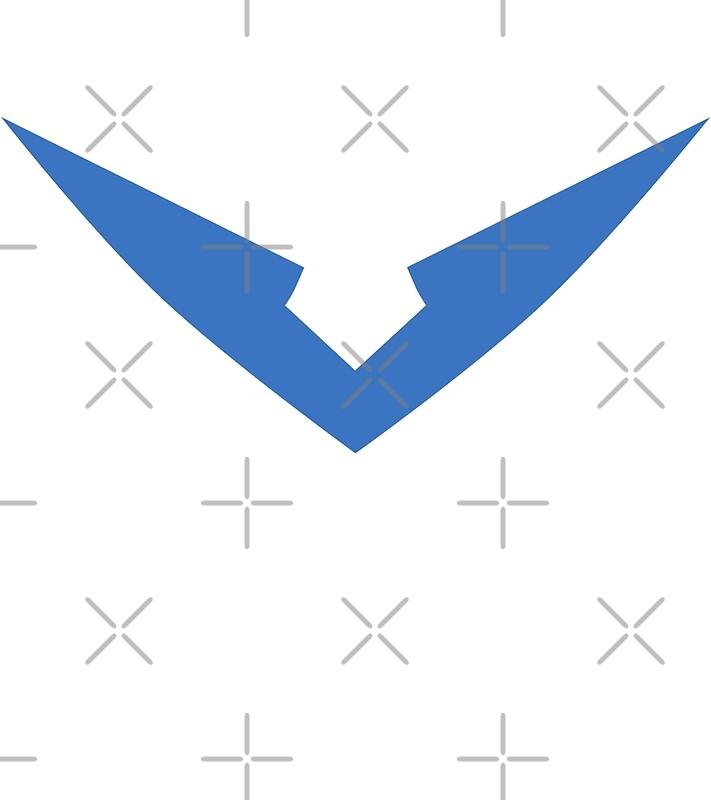 Quot Lance Blue Paladin Voltron Quot V Quot Logo Quot Art Prints By