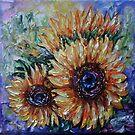 Ah, Sonnenblume von Lena Owens von OLena  Art ❣️