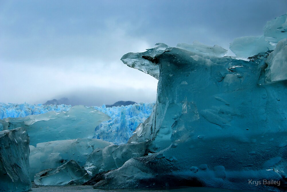 Blue Berg by Krys Bailey