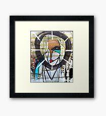 she gaia Framed Print