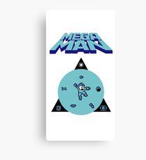 MEGAMAN 8-BITS! Canvas Print