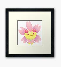 Pokemon- Cherrim Framed Print