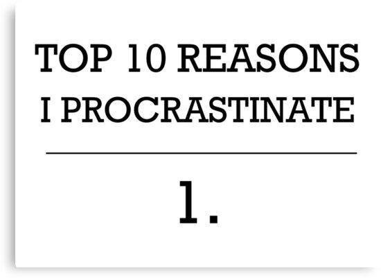 Procrastinator by ShadowOfTheDay