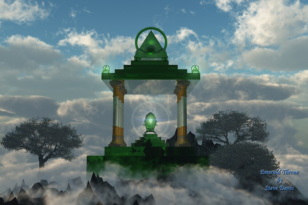 Emerald Throne by Steve Davis