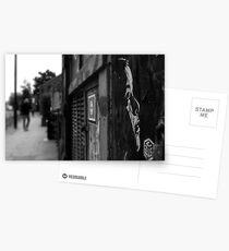 NO ONE CARES Postcards