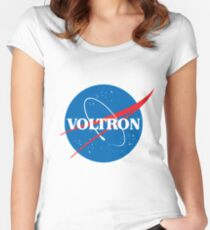 NASA (but it's voltron) Women's Fitted Scoop T-Shirt