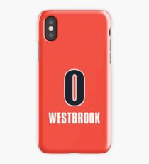 Russell Westbrook 0 Jersey Phone Case iPhone Case/Skin