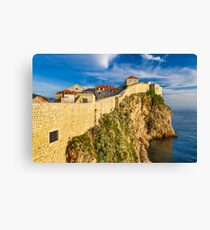 Walls of Dubrovnik Canvas Print