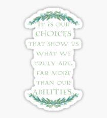 Albus Dumbledore Quote Sticker