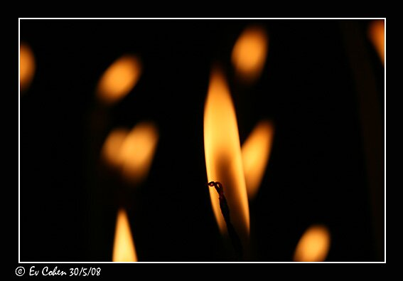 Church Candle by EvCohen
