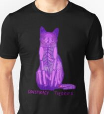 conspiracy theories - feline Unisex T-Shirt