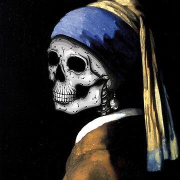 Skeleton Vermeer by 0990dav