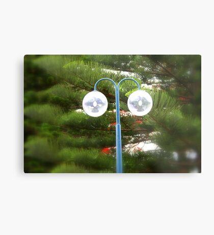 Sidewalk Lamp ... ein genauerer Blick Metalldruck