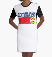 Communist Pepsi Graphic T-Shirt Dress
