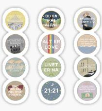 EVAK: A MINIMALIST LOVE STORY VOL. II Sticker