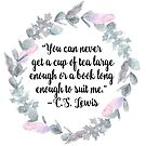 CS Lewis Quote by erinbookdragon