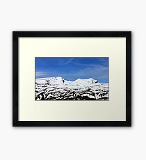 Mulhacen and Alcazaba - Sierra Nevada - Spain Framed Print