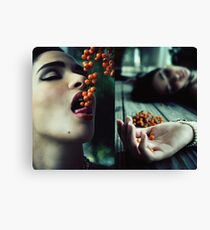 Don't Eat The Berries Canvas Print