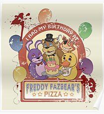 Freddy Fazbear's Birthday! (survivor version) Poster